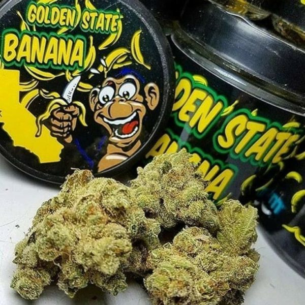 Golden State Banana Can(Min Order 5 Cans)